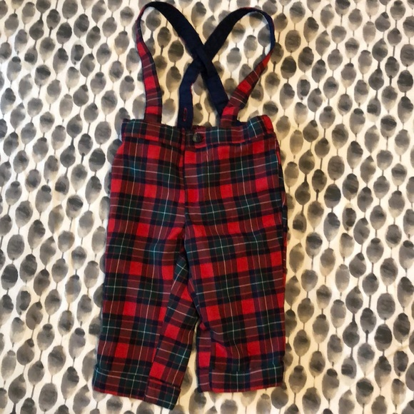 56138c5c5 Janie and Jack Bottoms | Janie Jack Baby Boy Plaid Pants | Poshmark